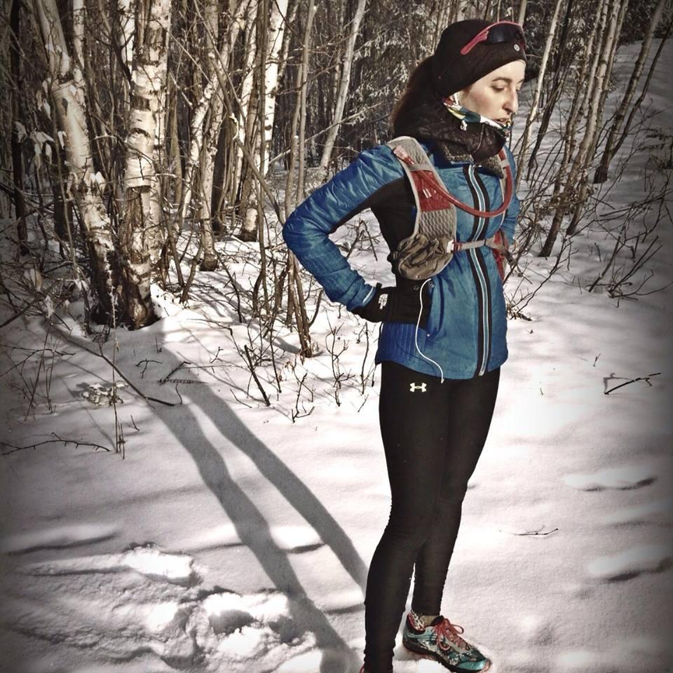 Carole - entrainement - hiver