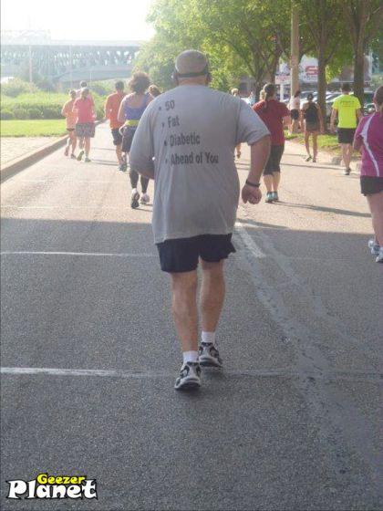 fat runner