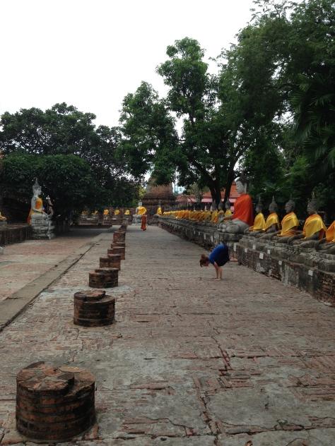 Corbeau temple Thailande